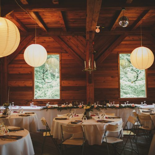 Wedding Reception Strathcona Park Lodge Sea Tree Weddings