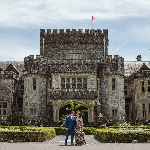Hatley Castle Wedding Photos. Sea Tree Weddings.